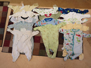 Great box of 3-6 month clothing, under $1/item