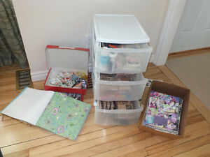 Stamp Collection/Cross Stitch supplies OBO