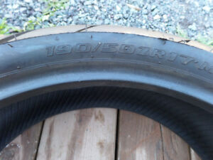 motorcycle tire 190 50 zr17