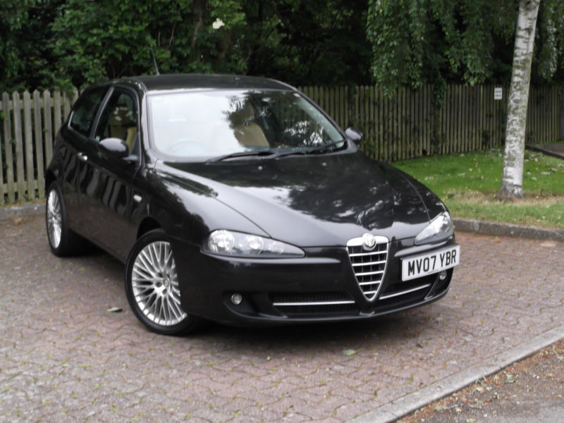 alfa romeo 147 1 9 jtdm collezione diesel very rare 1 of only 500 made in broadstairs. Black Bedroom Furniture Sets. Home Design Ideas