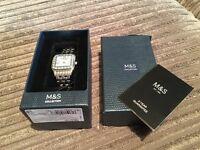 Brand new (still in box) M&S Ladies Watch