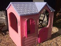Little tykes pink house