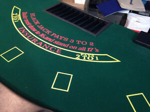 Black Jack Tables (Two Available, Priced Individually) London Ontario image 4