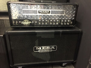 Mesa Boogie Dual Rectifier Solo Head 2 x 12 Rig - mint!