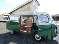 Volkswagen Westfalia T2 Campmobile 4 berth pop top campervan for sale Ref 137744