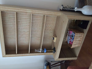 2 hutches for sale - moving out of province