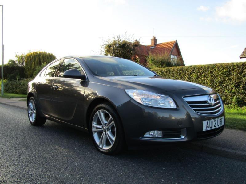 2012 Vauxhall Insignia 2.0 CDTi EXCLUSIVE SRI 160 BHP 5DR TURBO DIESEL HATCHB...