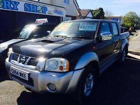 2004 Nissan Navara Pick Up Manual Silver/Black