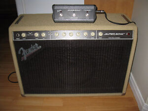 FENDER SUPERSONIC 60 watts à lampes