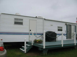 Trailer *weekly rental @Twinshores Campground, Darnley, PEI