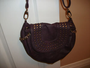 PURPLE  BURGANDY PURSE Kitchener / Waterloo Kitchener Area image 1
