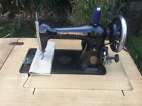 Fully serviced Singer heavy duty sewing machine
