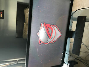 Pc parts and monitor