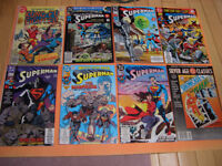 (25) COMICS FOR SALE SUPERMAN, ABYSS, MR MONSTER