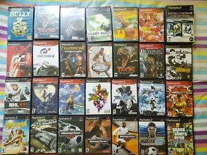 tons of great ps & ps2 games