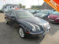 2007 Jaguar S-Type Saloon 2.7d V6 206 SE Auto6 Diesel blue Automatic