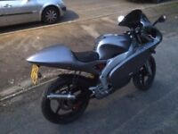 Aprilia rs50 with 90cc kit