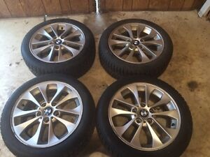 BMW 3 series Rims and winter tires 205/50R17