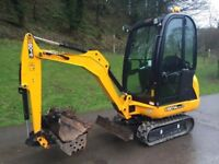 Mini Digger for Self-Drive Hire