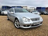 2005 Mercedes-Benz C220 2.1TD auto Sport Edition Warranty Delivery Px welcome