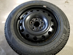 Honda Civic / Acura ILX Winter Tires on Black rims - 5X114.3 lug