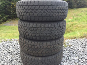 Four Arctic Claw 195/65R15 Winter Tires