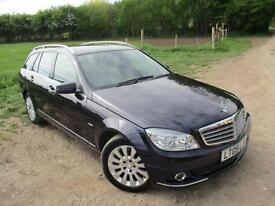 "2009 MERCEDES C-CLASS C220 CDI ELEGANCE LOTS OF EXTRA""S ESTATE DIESEL"