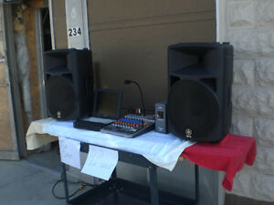 Complete system for DJ Equipment