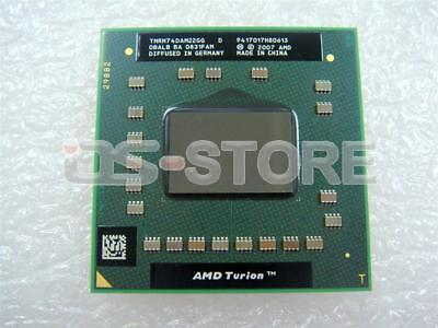 AMD Mobile Turion 64 x2 RM-74 2.2GHz 1M s1 LP TMRM74DAM22GG CPU Processor 638pin Amd Mobile