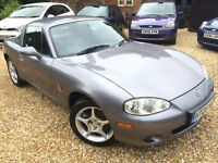 Mazda MX-5 1.8i Icon *Watch YouTube Video* Low Mileage and in Superb Order