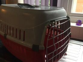 Cat carry basket new used once would suit cat, small dog, rabbit etc