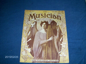 THE MUSICIAN-VOL. 28 NO. 4-VINTAGE BACK ISSUE-APRIL 1912