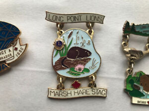 Lion's Club PINS for sale
