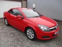 2009 Vauxhall Astra 1.8 VVT Sport 2dr Auto CABRIOLET, CONVERTIBLE 2 door Conv...