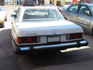 1975 Mercedes 450SL 4.5L V8