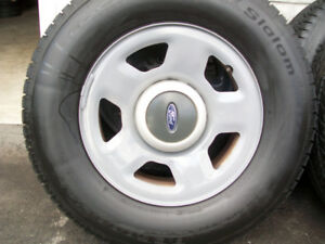 BFG. WINTER TIRES....FORD F-150........EXPEDITION