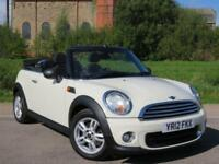 2012 12 MINI CONVERTIBLE 1.6 ONE 2D 98 BHP