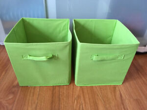 Green storage containers