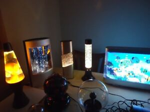 LAMPS, FROM 70'S and 80's and 90's  COLLECTION