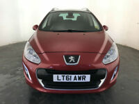 2011 61 PEUGEOT 308 ACTIVE SW E-HDI DIESEL SERVICE HISTORY FINANCE PX WELCOME