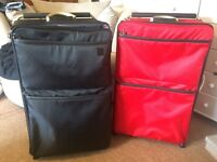 2 travel cases luggage bags