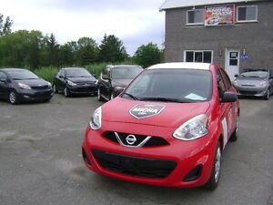 2015 Nissan MICRA S Familiale Wow!! Comme neuf!!