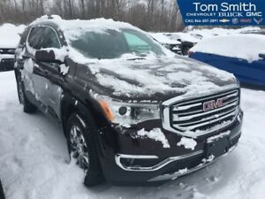 2018 GMC Acadia SLT  DUAL SUNROOF/INFOTAINMENT WITH NAV/REMOTE S