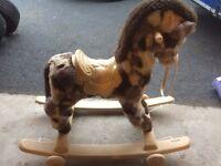 Childs rocking horse