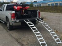 NEW ATV & Tractor Folding Aluminum Truck & Trailer Loading Ramps