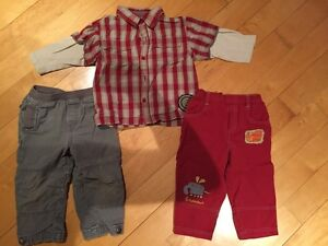 Vêtements Bum Kids et Brouette et Trottinette