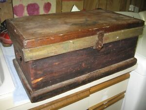 Old pine tool box / storage chest $20.00