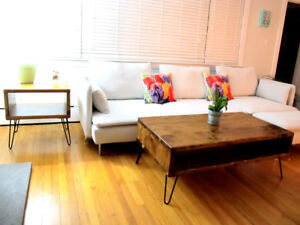Custom Coffee and End Tables
