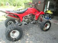 2008 trx 450r, low hours, with papers, 3800$