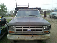 Circa 1983 Ford one ton welding truck